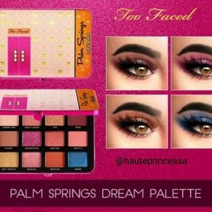 🌴Too Faced Palm springs dreams cocktail party